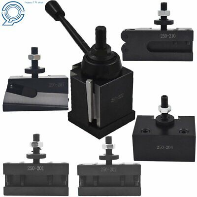 Bxa 250-222 Wedge Tool Post Set Cnc Quick Change Tool Post For Lathe 10-15