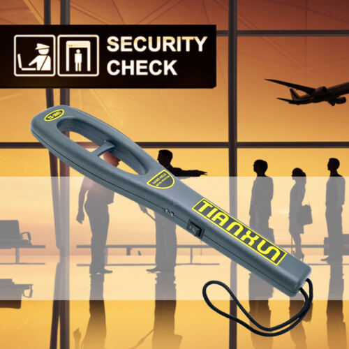 TX-1001 Portable Security Wand Scanner Handheld Metal Detector Super Sensivity