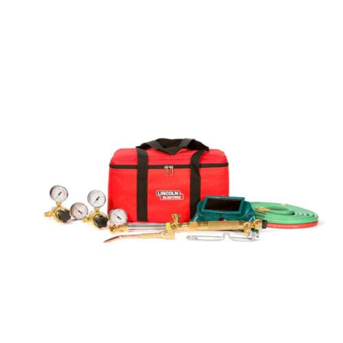 Lincoln Electric Cut Welder Kit with Torch, Oxygen and Acetylene Regulators