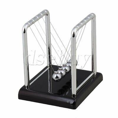 Lightweight Newtons Cradle Steel Balance Balls Desk Top Pendulum