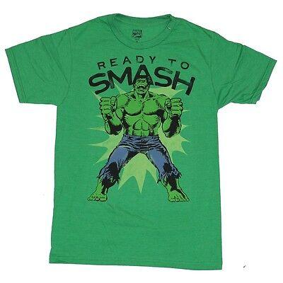 New Hulk Ready to Smash Marvel Graphic Tee Shirt