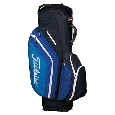 NEW Titleist Golf Lightweight Cart Bag 14-way Top Black / Blue / White