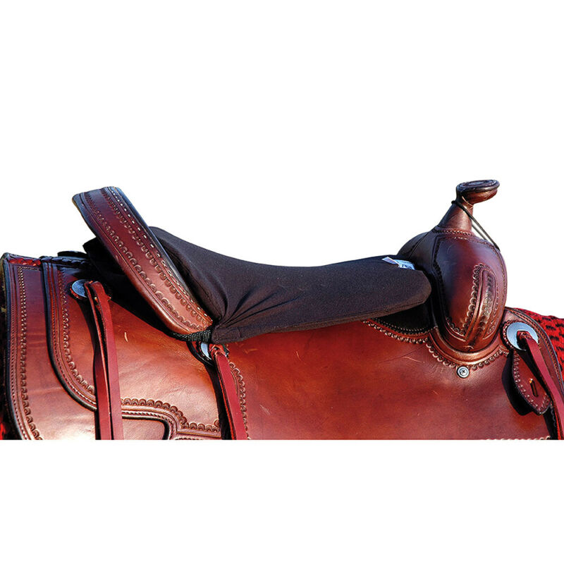 "C-C-W3 3/4"" Cashel Western Standard Tush Comfortable Horse Cushion Foam Black"