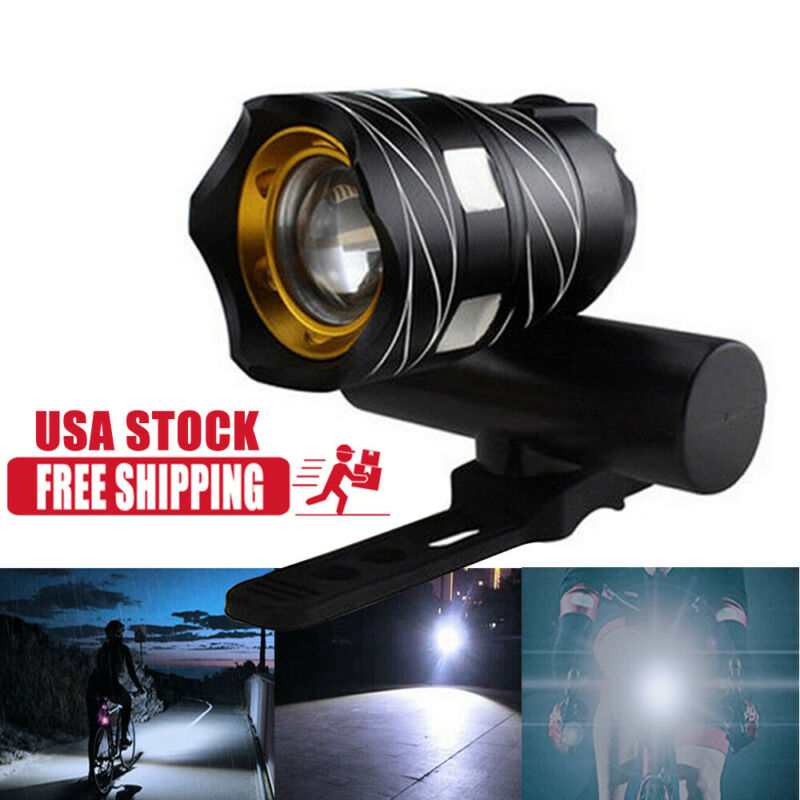 Rechargeable Bicycle HeadLight Bike Racing Front light 20000LM XM-L T6 LED MTB