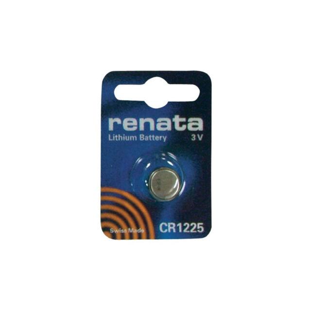Renata CR1225 DL12250 BR1225 Knopfzelle Uhr Fernbedienung Schlüssel Batterie Neu