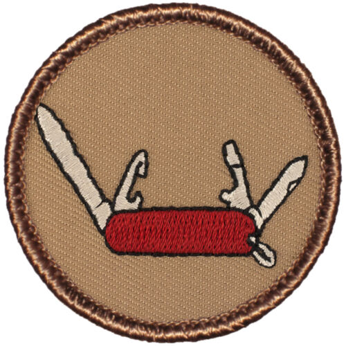 Cool Boy Scout Patches - The Swiss Army Knife Patrol Patch!! (#581)