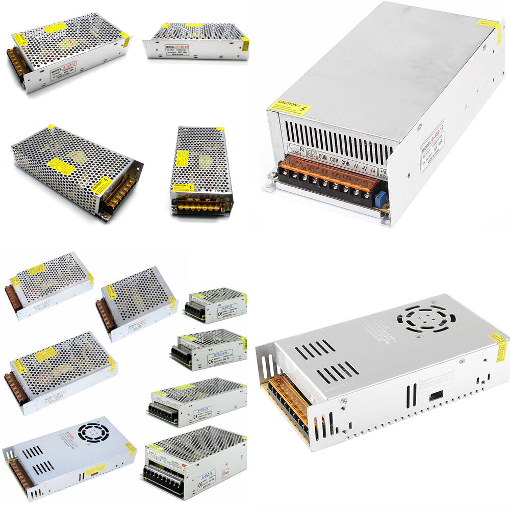 AC 110V to DC 5V 12V 24V 36V 48V Transformer Switch Power Su