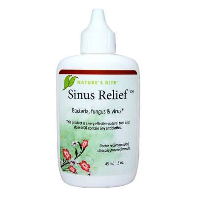 Natures Rite Sinus Relief   1 5 Ounce Bottle