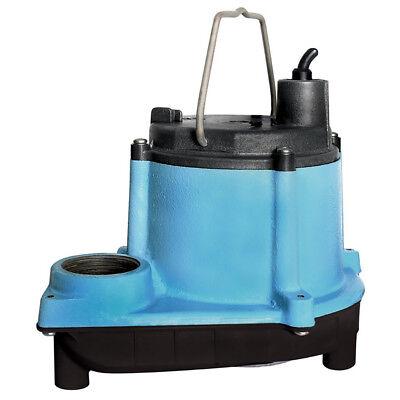 Little Giant 6 Series 13 Hp Integral Diaphragm Submersible Sump Pump 2 Pack