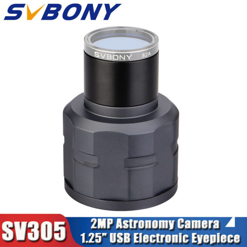 "SV305 2MP 1.25"" Electronic Eyepieces for Astronomy Camera Telescope Professional"