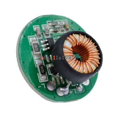 10w 3-12v 20mm With Switch Flashlight Driver Board T6u2 Xm-l2u2 Led