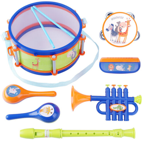 Kids Drum Set,Toddler Musical Instruments Toys,Gift for 18 M