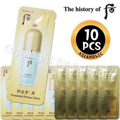 The history of Whoo Gongjinhyang Mi Essential Primer Base 1ml x 10pcs (10ml) New