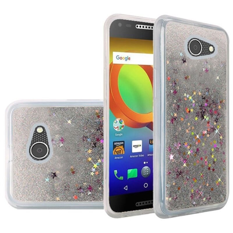 TPU Flexi Gel Skin Case Phone Cover for ZTE ZFive G C Z557BL Z558VL