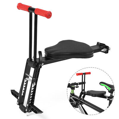 Child Bicycle Seat Baby Bike Saddle Fold Kids Safety Front Chair Mount Carrier