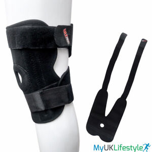 Knee Support Open Patella Adjustable Velcro Brace Stabilising Elastic Strap NHS