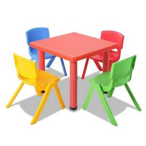 Keezi 5 Piece Kids Table and Chair Set - Red Brisbane City Brisbane North West Preview