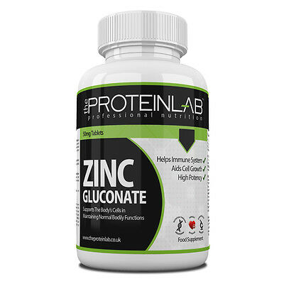 Zinc Sexual Health - Zinc Gluconate 50mg Sexual Health Acne Immunity High Strength Tablets