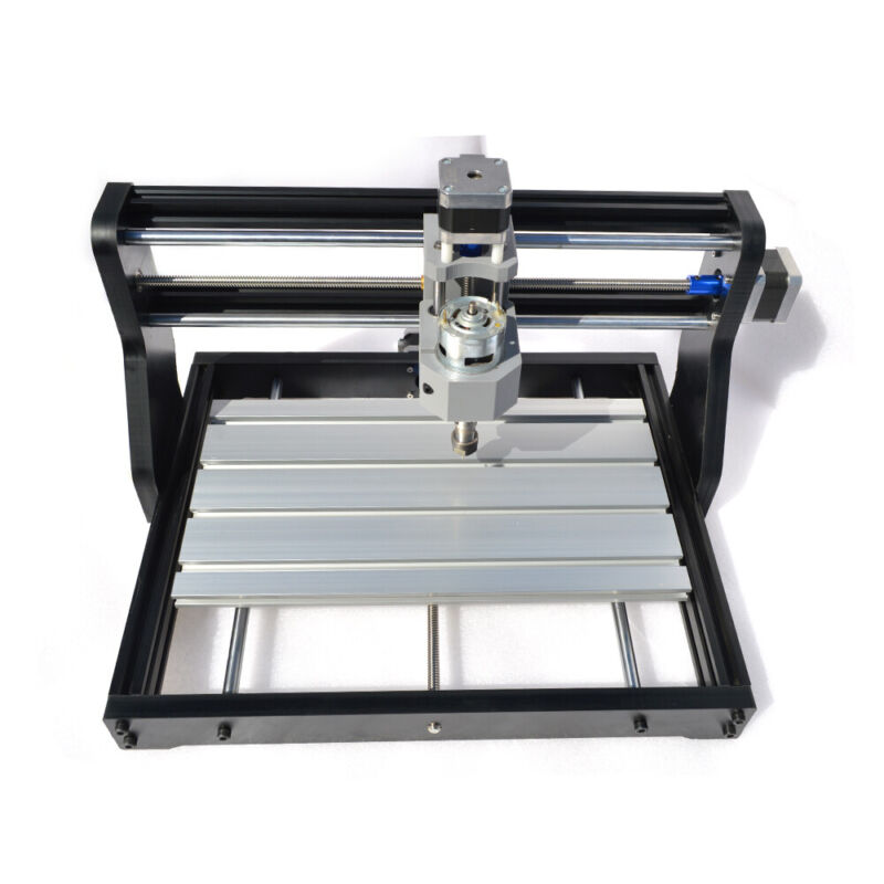 3 AXIS USB CNC 3018 DIY Router Kit Laser Engraver Carver Machine+ GRBL 2in1 USED