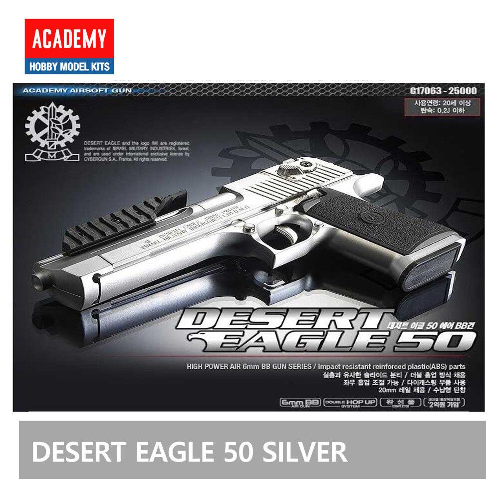Academy Desert Eagle 50 Gold Pistol Airsoft Handgun 6mm BB Toy Gun Military