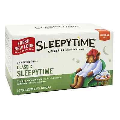 Celestial Seasonings Sleepytime Natural Herb Tea 20 -