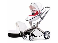 Hot Mom 3 in 1 Portable Luxury Baby Stroller Travel System Multi-Function, Free Accessories!!