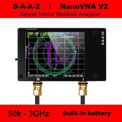2.8 50khz-3ghz Nanovna V2 Vector Network Antenna Analyzer Shortwave Hf Vhf Uhf