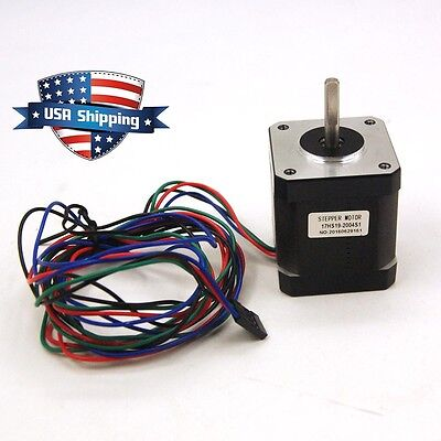 Nema 17 Stepper Motor Bipolar 84oz.in59ncm Cnc3d Printer Reprap Robot
