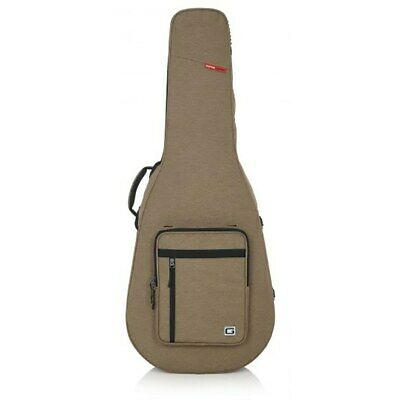 Gator Transit Series GTR-DREAD12 Dreadnought Guitar Case Tan w/ Backpack Straps