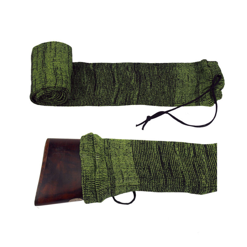 "Tourbon 53"" Silicone Treated Gun Sleeve Shotgun/Rifle Sock Shooting Cover Green"