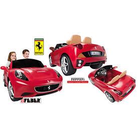 Feber Licensed Ferrari California 2 Seater 12v Kids Ride on Cars - Red