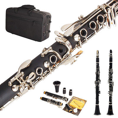 NEW BAND CLARINET Wood Finish.W/CASE.APPROVED+WARRANTY BP