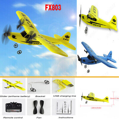 2.4G Remote Control Helicopter Plane Glider EPP Foam 2CH Airplane RC Fun Toys