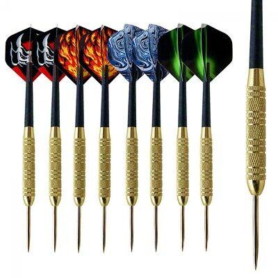 """/""""ROUGHNECK/"""" 27 gram Steel Tip Darts 85/% Tungsten 1 set With Accessories"""