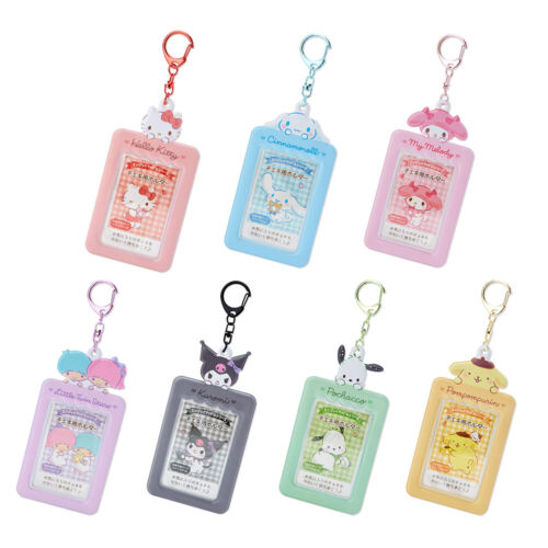 Sanrio Kuromi/Hello Kitty/Cinnamoroll/Melody Photo Case/Holder Charm Keychain
