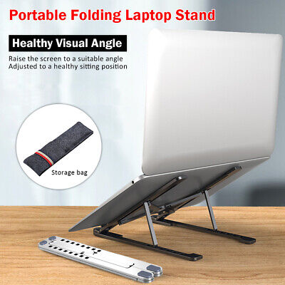 Adjustable Laptop Netbook Stand Computer Office Table Desk Stand Tray Bed Sofa