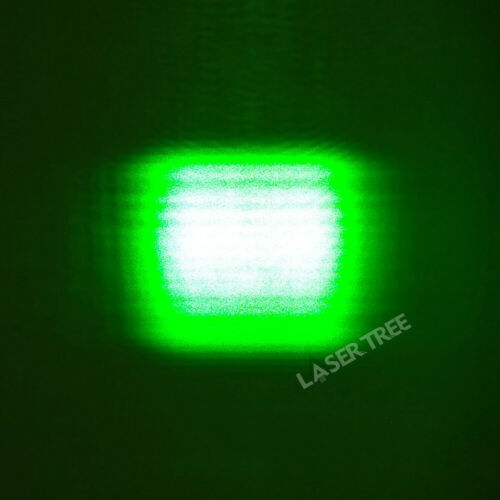 525nm 1W TO-5 φ9mm Green Laser Diode with FAC Fiber, Square Spot