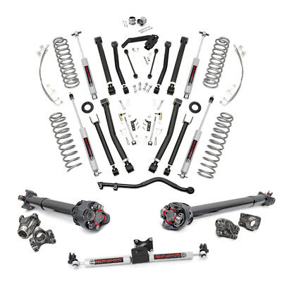 4 Inch COMPLETE Suspension Lift Kit for Jeep Wrangler JKU 12-18 4-Door