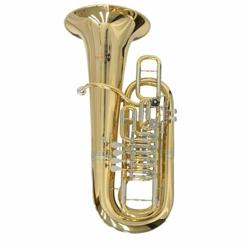 Schiller Elite Frankfurt Rotary 6-Valve Tuba - Key of F