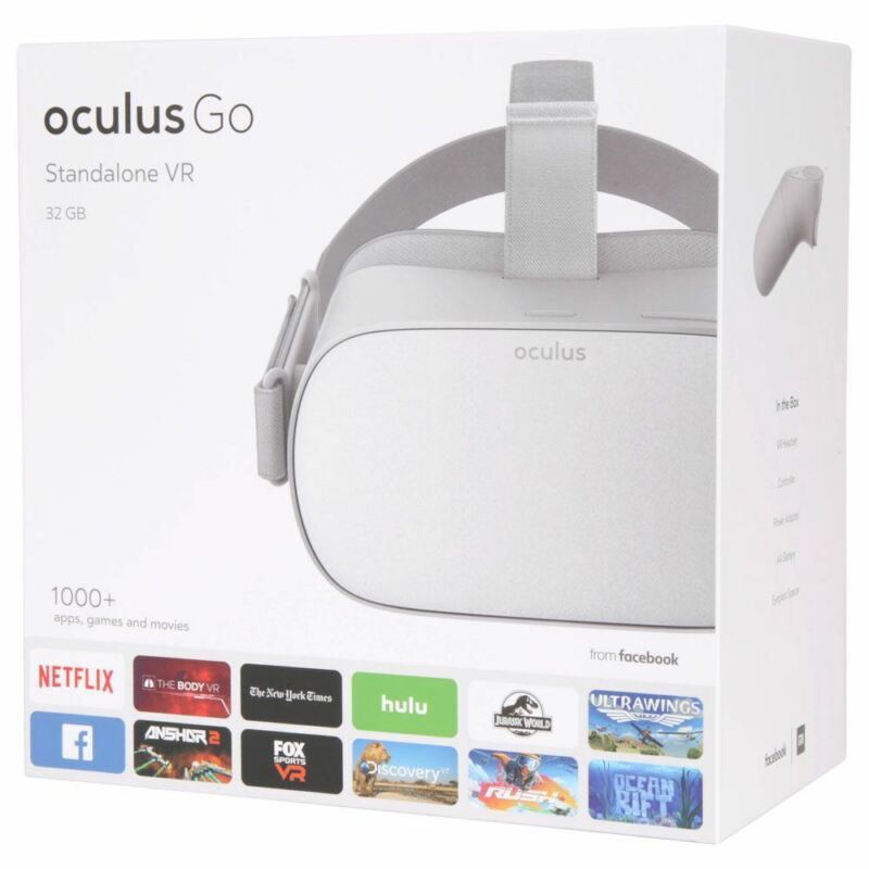 Oculus Go MH-A32 Standalone Virtual Reality Headset - 32GB Factory Sealed New