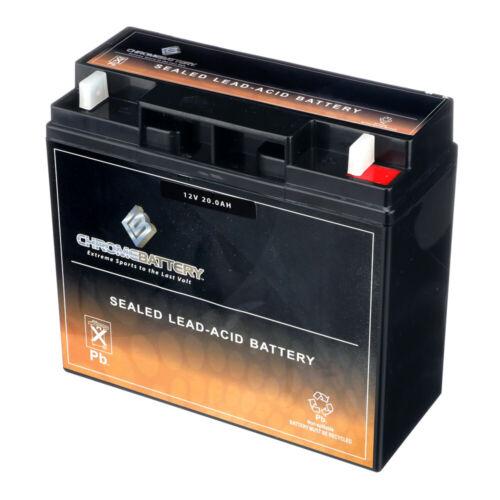 12V 20AH SLA Battery - Replaces UB12220 51913 12896 ub12180 gp12170 np18-12