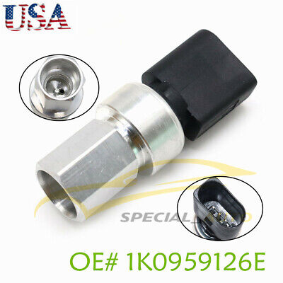 For Audi A3 Q7 TT VW Beetle Golf Passat A/C Pressure Refrigerant Switch Sensor