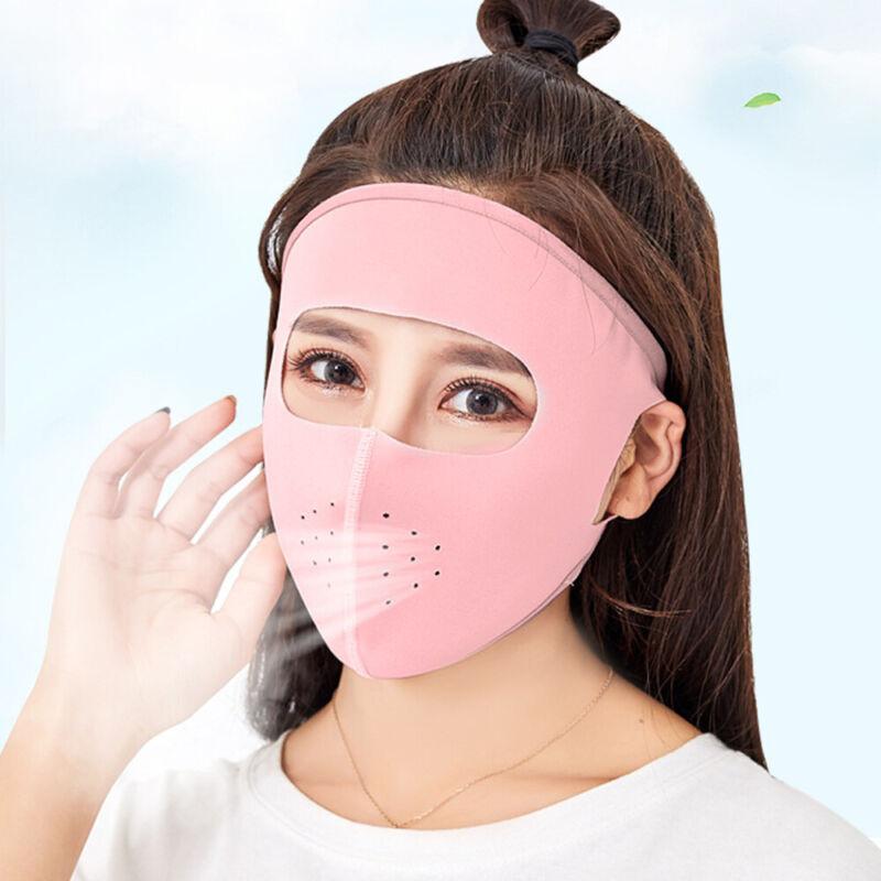Sunscreen Anti-UV Sunshade Ice Fabric Masks Breathable Unise