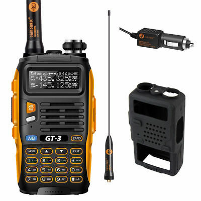Baofeng *GT-3 MarkII* V/UHF 2m/70cm Dual Band Ham Two-way Radio Walkie Talkie