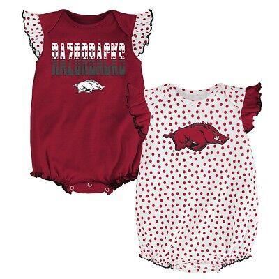 Arkansas Razorbacks NCAA Newborn Maroon/White