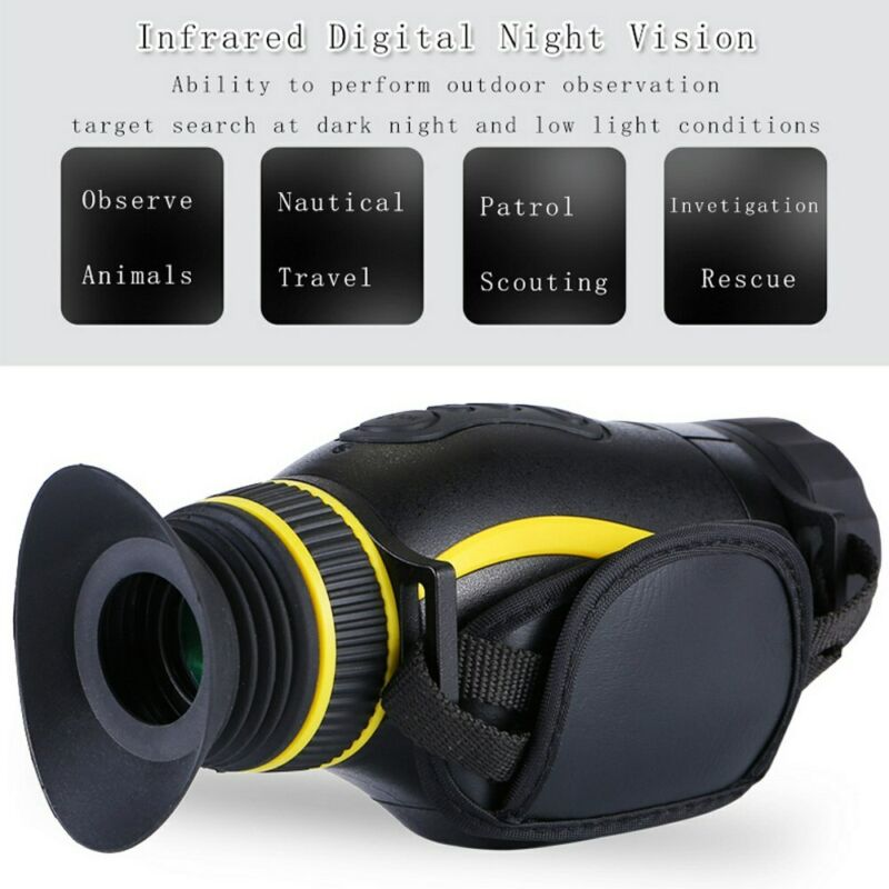 NV0435 Thermal Imaging Outdoor Infrared Multifunction 4x Night Vision Kit