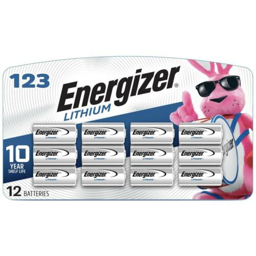 Energizer EL123APBP-12 1500mAh Li-Ion Battery (12pack)