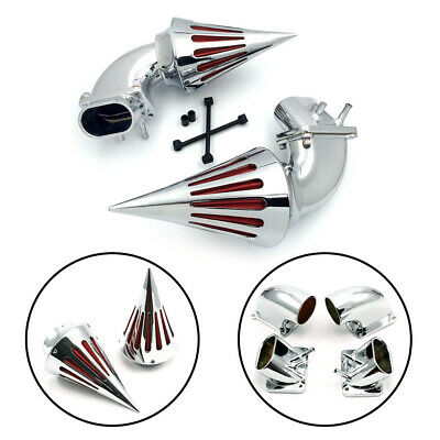 Motor Spike Air Cleaner Intake Filter Kit For Suzuki Boulevard M109 M109R Chrome
