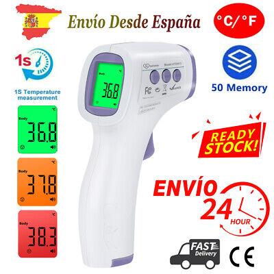 Médicos Termómetro Infrarrojo Termómetro Digital Sin Contacto Alarma De Fiebre