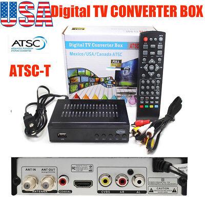 Digital TV Converter box ATSC TV Receiver Full HD 1080p Digita Tunner BOX PVR